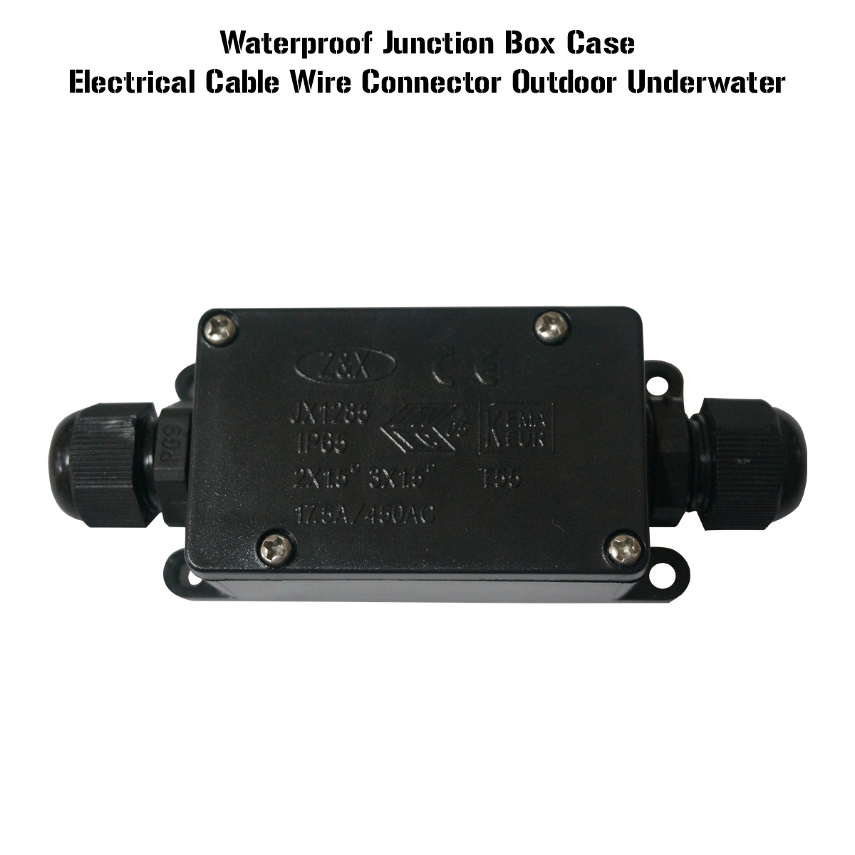 IP65 2/3 Way Underground Cable Wire Connectors Junction Box Outdoor ...