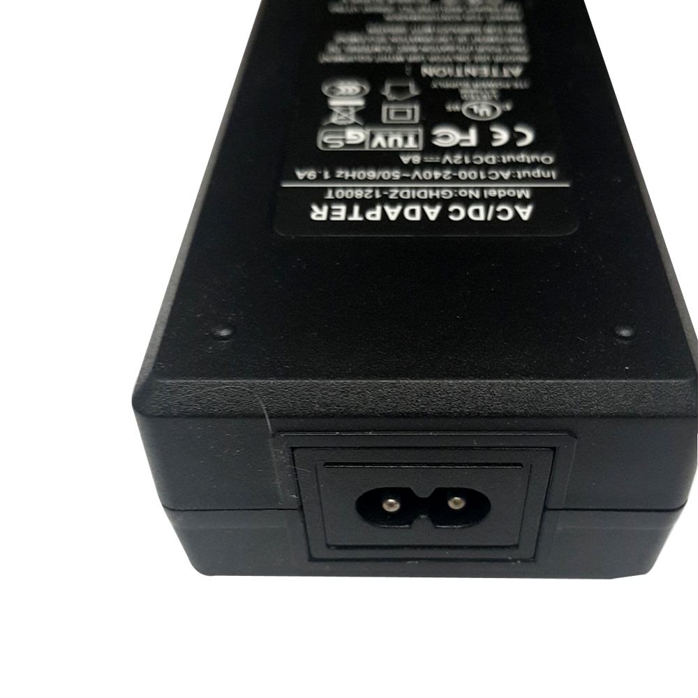 3 Pin UK Power adoptant bande DEL Bande CCTV DC 12 V 1 A 2 A 5 A DEL Bande Ruban Deco