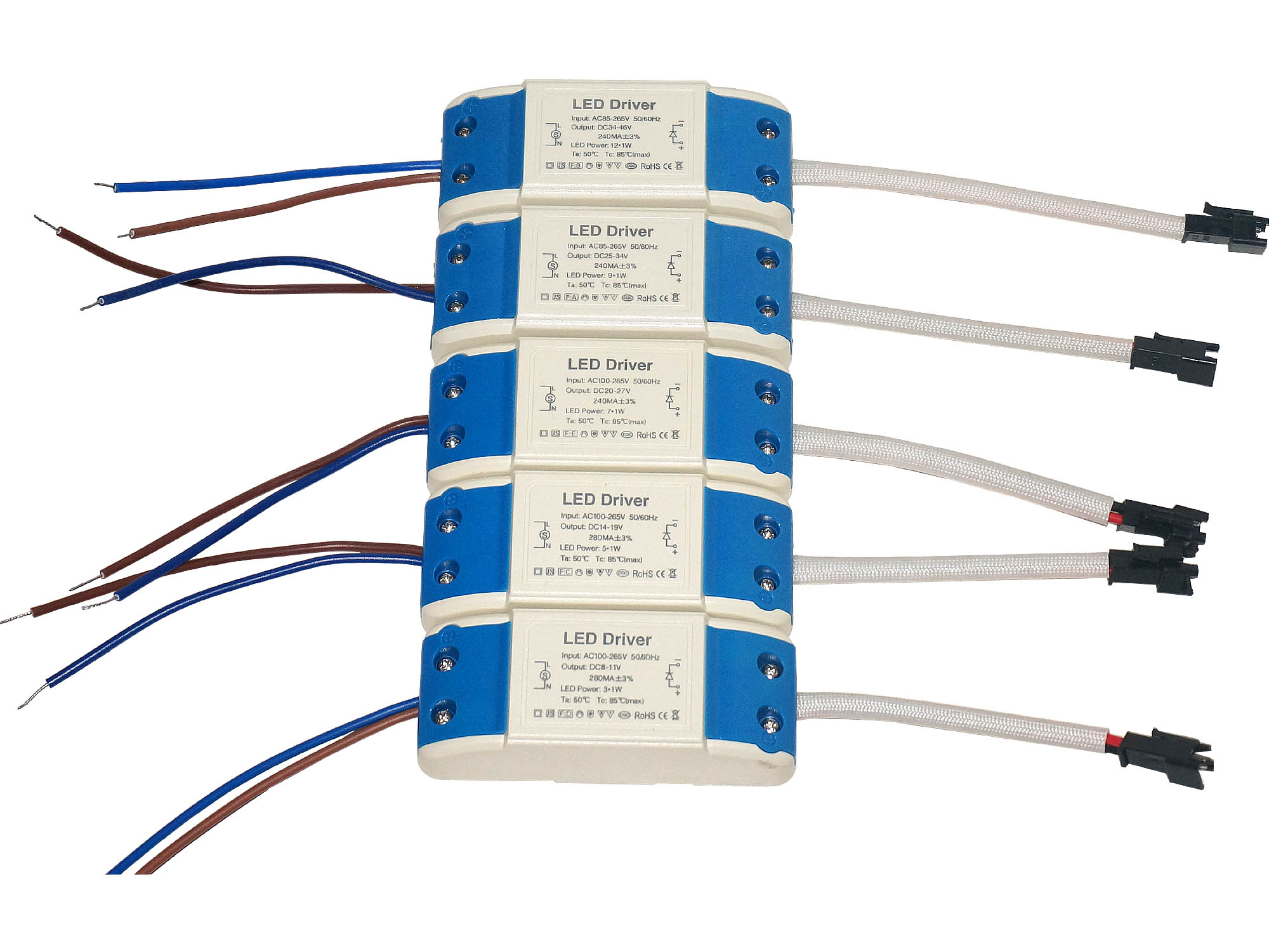 Dc Led Driver Transformer 3w 5w 7w 9w 12w Mr16 Mr11 G4 Constant Power Circuit Due To The Reactive Often Encountered In Lamps Transformers Are Always About 30 40 More Selected Using This