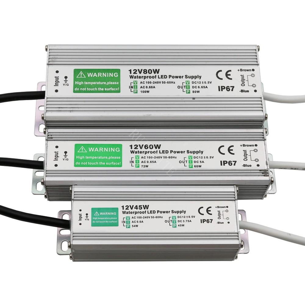 Ip67 Waterproof Led Driver Power Supply Transformer 240v Dc12v 15w Drivers Wiring Diagram Ac 125a 150w Uk