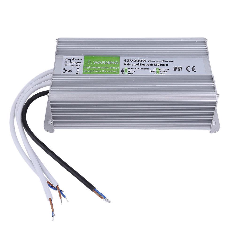 dc12v 5v driver ac 230v power supply transformer for led. Black Bedroom Furniture Sets. Home Design Ideas