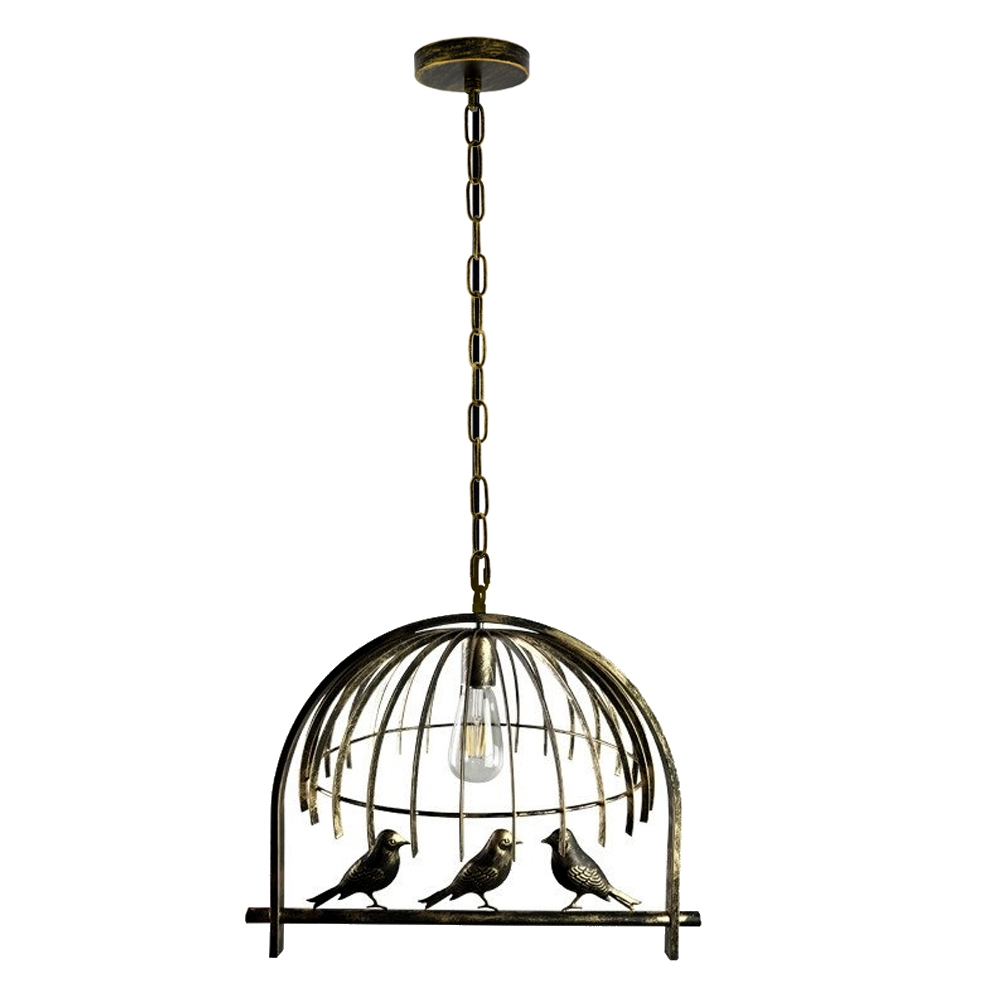 new modern vintage industrial retro loft bird cage ceiling